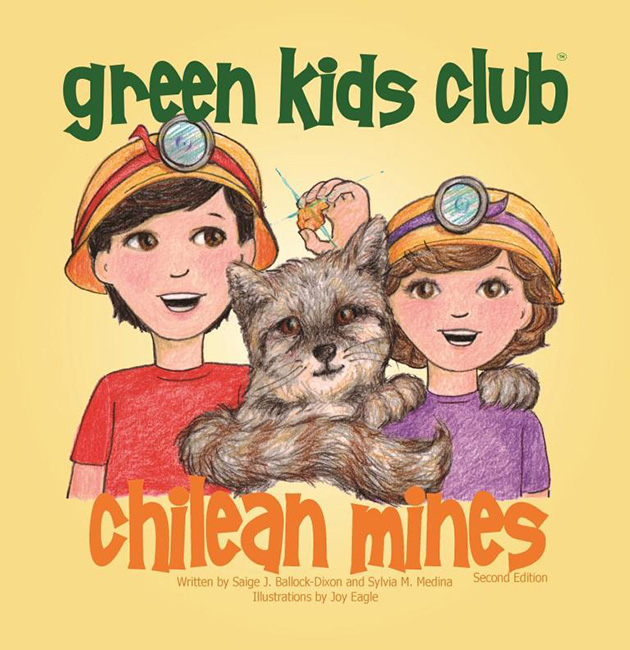 EarthHero - The Chilean Mine - Children's Book