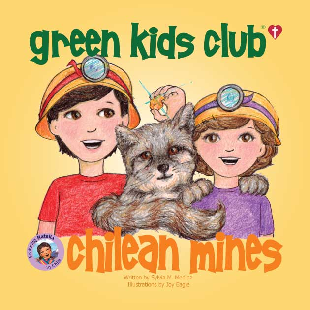 EarthHero - Chilean Mines - Christian Version - Children's Book