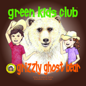 EarthHero - Grizzly Ghost Bear - Children's Book