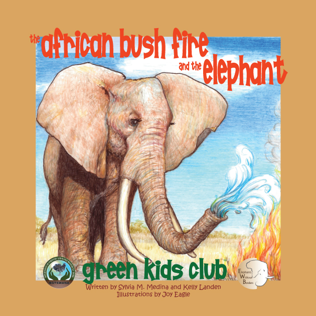 EarthHero - African Bush Fire and the Elephant - Children's Book
