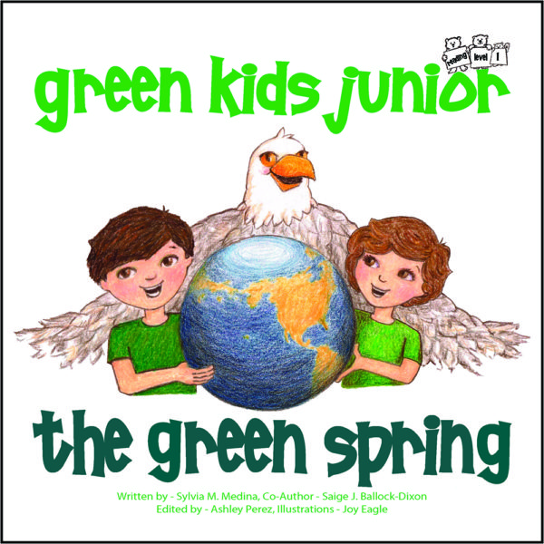 EarthHero - The Green Spring - Junior Reader Level - Children's Book