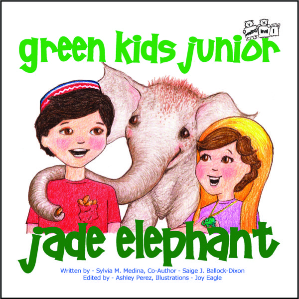EarthHero - The Jade Elephant - Junior Reader Level - Children's Book