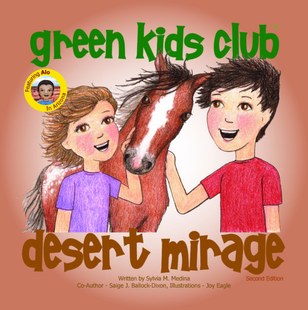 EarthHero - Desert Mirage - Children's Book