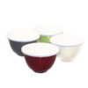 EarthHero - Ribbed Molded Bamboo® 4 Piece Small Bowls and Lids 1