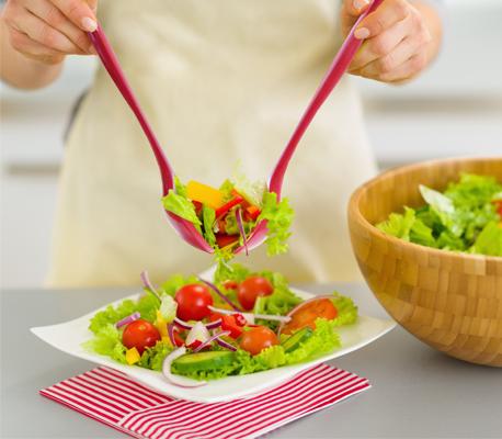 EarthHero - Molded Bamboo® 2 Piece Salad Serving Set 2