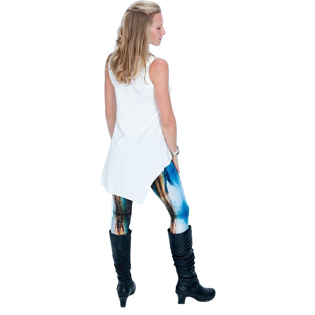 EarthHero - H2OM Snake Sunset Yoga Leggings 6