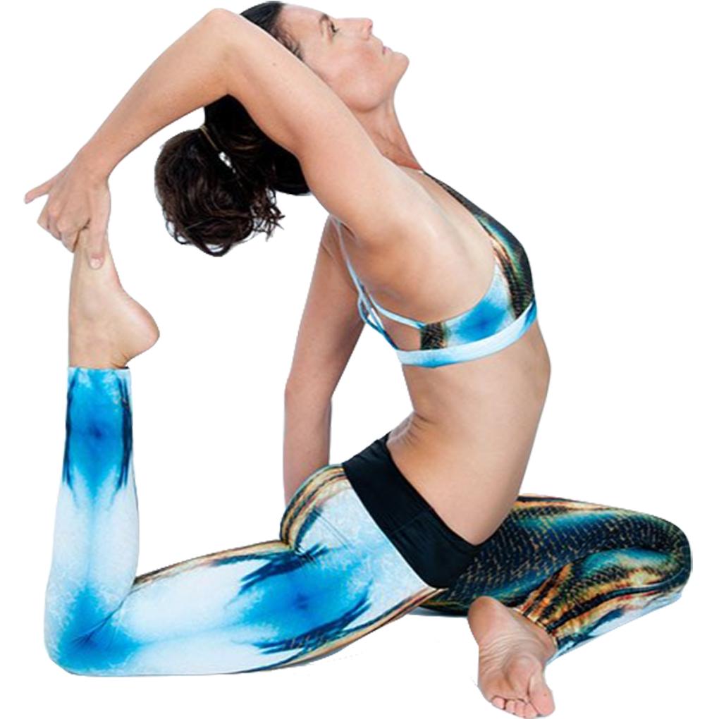 EarthHero - H2OM Snake Sunset Yoga Leggings 3