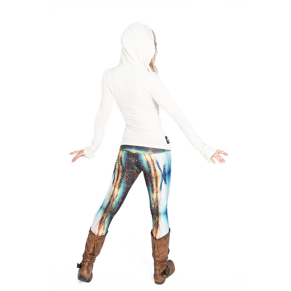 EarthHero - H2OM Snake Sunset Yoga Leggings 5
