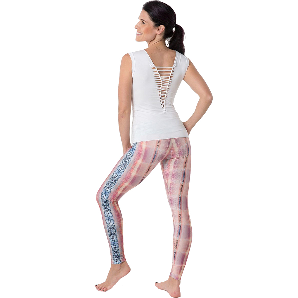 EarthHero - H2OM Albino Water Cobra Yoga Leggings 2