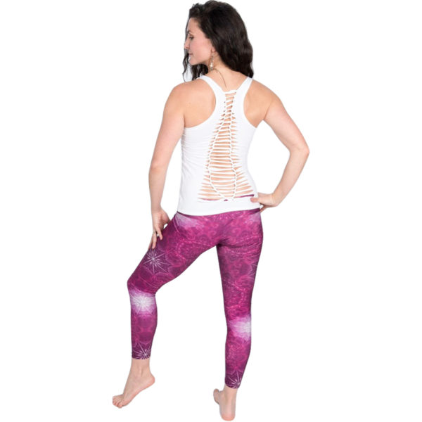 EarthHero - H2OM Pink Geo Yoga Leggings 3