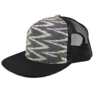 EarthHero - Jetty Flat Bill Hat - Ikat