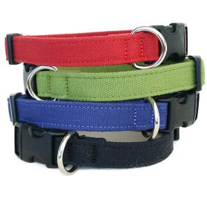 EarthHero - Basic Canvas Hemp Dog Collar