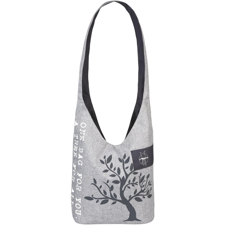 EarthHero - Green Label Neckline Diaper Bag - Black Mélange