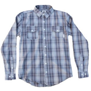 EarthHero - The Rae Blue Button Up Shirt 1