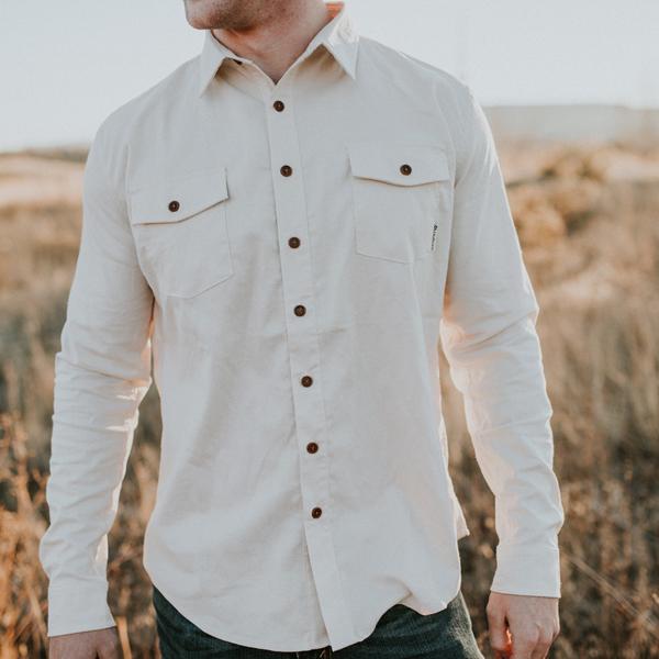 EarthHero - The Birch White Flannel 3
