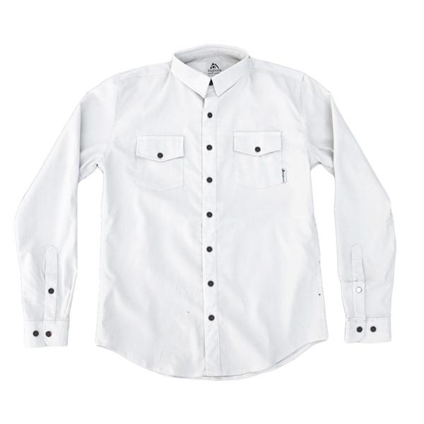 EarthHero - The Birch White Flannel 1
