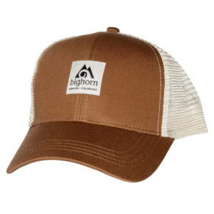EarthHero - Bighorn Men's Trucker Hat - Brown & White