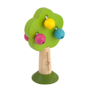 EarthHero - Tree Wood Baby Rattle 1