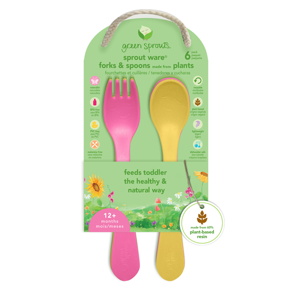EarthHero - Sprout Ware Fork & Spoon Kit 2