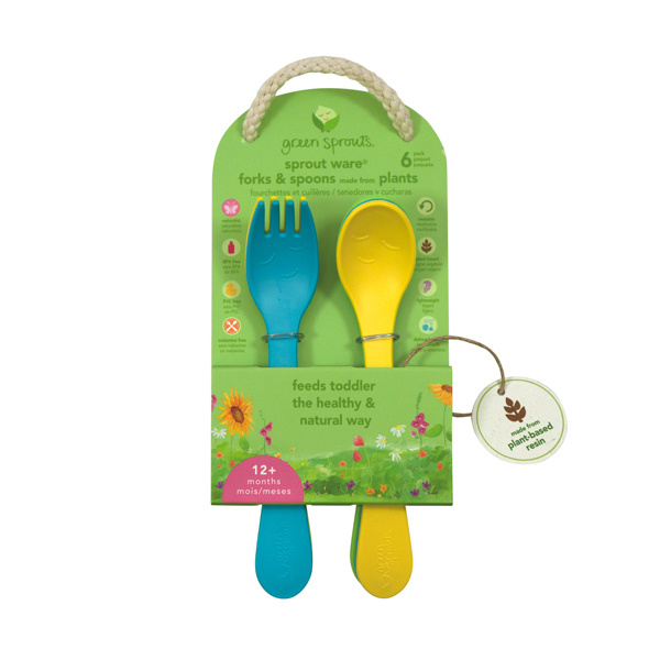 EarthHero - Sprout Ware Fork & Spoon Kit 4