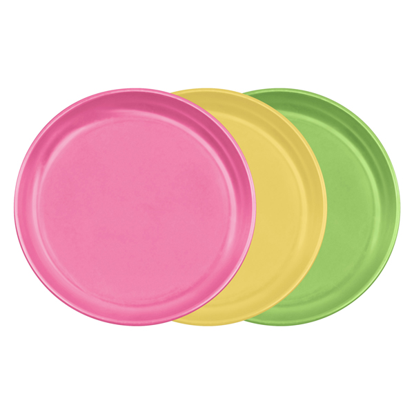 EarthHero - Sprout Ware Baby Plate Set - Pink