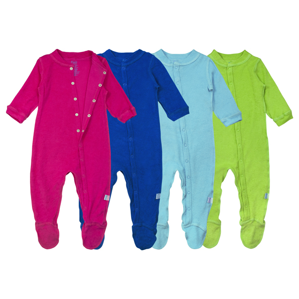 EarthHero - Organic Cotton Footie Pajamas 1