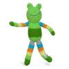 EarthHero - Animal Friend Organic Baby Rattle - Green