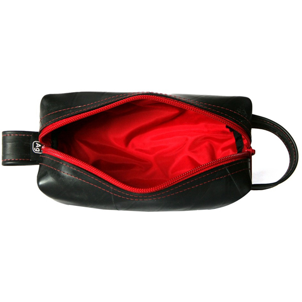 EarthHero - Elliott Mini Toiletry Bag - Red