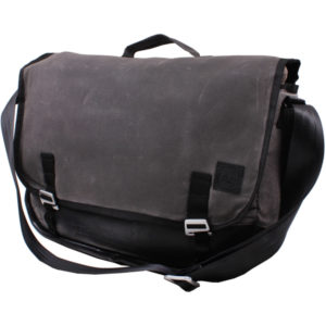 EarthHero - Jefferson Waxed Canvas Messenger Bag 1