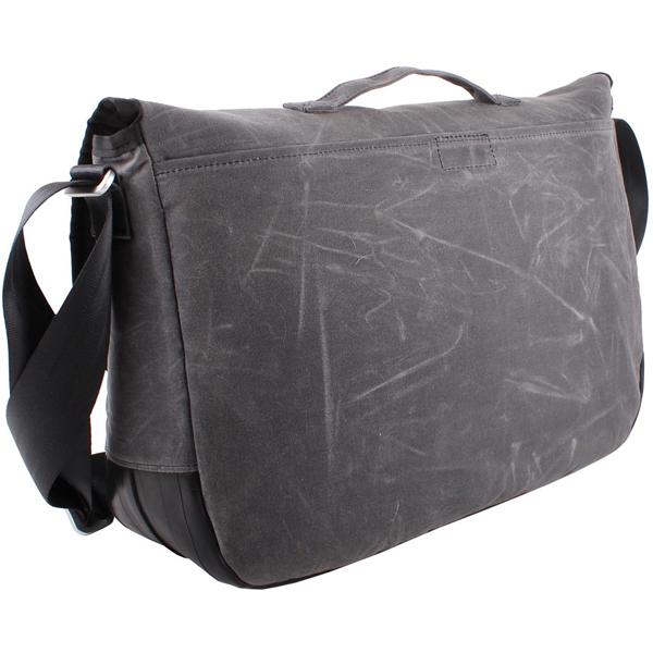 EarthHero - Jefferson Waxed Canvas Messenger Bag 4
