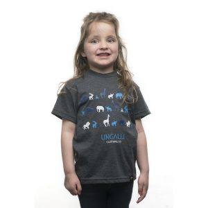EarthHero - Blue Jungle Kid's Graphic Tee - 1