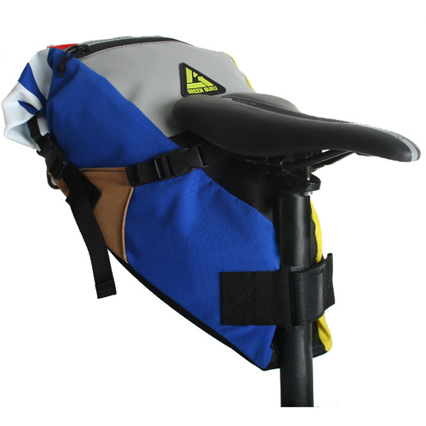 EarthHero - Hauler Bike Saddle Bag - Multicolor