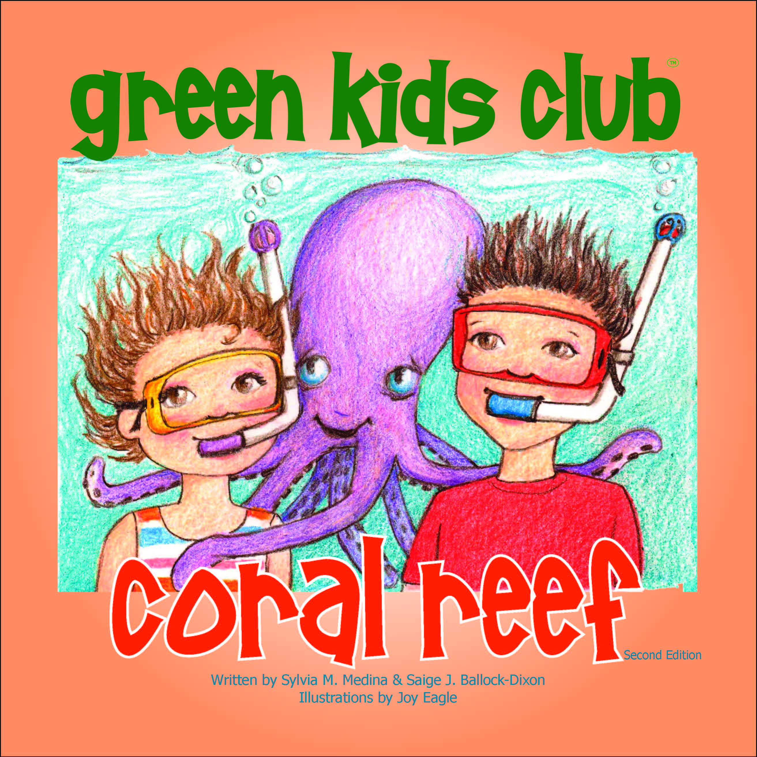 EarthHero - Coral Reef - Children's Book