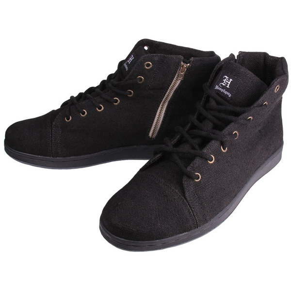 EarthHero - Ruler Hemp Shoe - Black