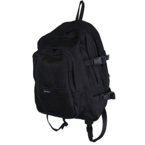EarthHero - Hemp Trekker Backpack - Black