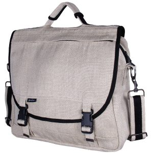 EarthHero - Hemp Courier Bag - Natural