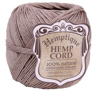 EarthHero - Hemp Cord Ball 400ft - Natural