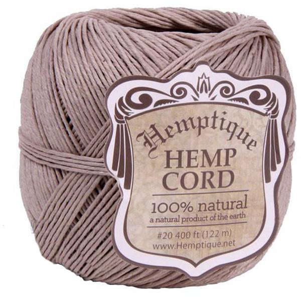 EarthHero - Hemp Cord Ball 400ft - Natural