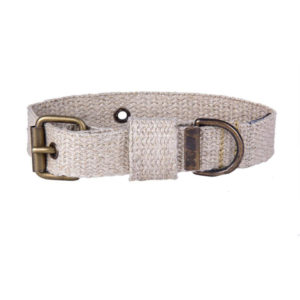 EarthHero - Hemp Canvas Dog Collar - Small