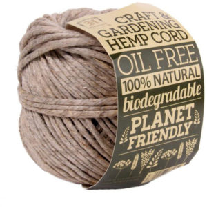 EarthHero - Gardening Hemp Cord Ball 240ft - Natural