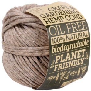 EarthHero - Gardening Hemp Cord Ball 125ft - Natural