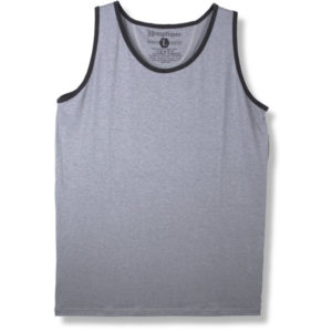 EarthHero - Basic Hemp Tank - Grey