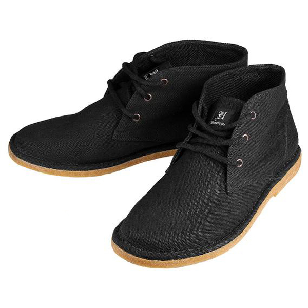 EarthHero - Atticus Hemp Shoes - Black