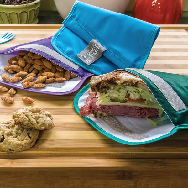 EarthHero - Snack Time rePETe Reusable Snack Bags - 5
