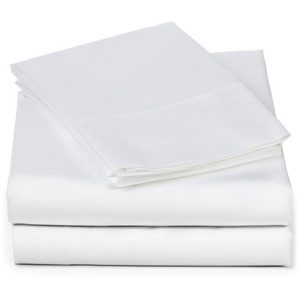 EarthHero - Organic Plain Sheet Set - White