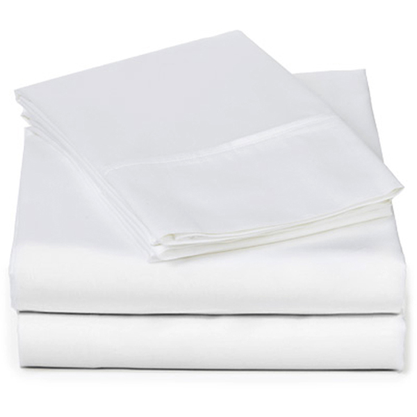 EarthHero - Organic Hemmed Sheet Set - White