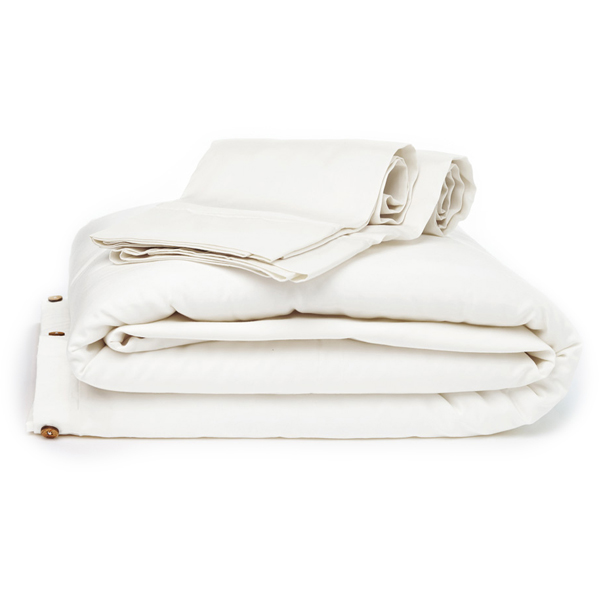 EarthHero - Organic Duvet Cover - White