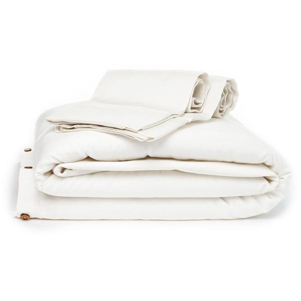 EarthHero - Organic Duvet Cover - White