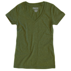 Recover - Women's V-Neck T-Shirt - Grass