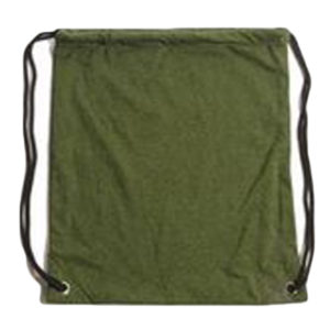 Recover - Upcycled Drawstring Backpack - Grass